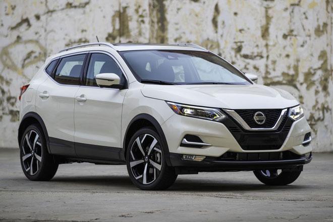 =5. Nissan Rogue Sport 2021 (điểm an toàn: 9,7/10).
