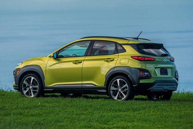 =9. Hyundai Kona 2021 (điểm an toàn: 9,6/10).