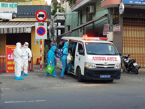 Đà Nẵng: 5 người nhà nhân viên bảo vệ tiệm bánh cạnh Công ty nhựa Duy Tân dương tính