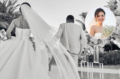 Tròn 1 năm ngày cưới, Phanh Lee cuối cùng cũng chịu tung ảnh hiếm trong hôn lễ cực kín đáo với TGĐ tập đoàn nghìn tỳ
