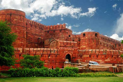 Pháo đài đỏ Agra sở hữu kiến trúc độc nhất vô nhị trên thế giới - vietllot 655