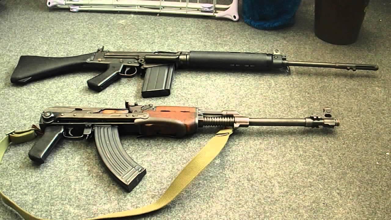 Khẩu súng trường phương Tây là đối thủ của AK-47 trong Chiến tranh Lạnh