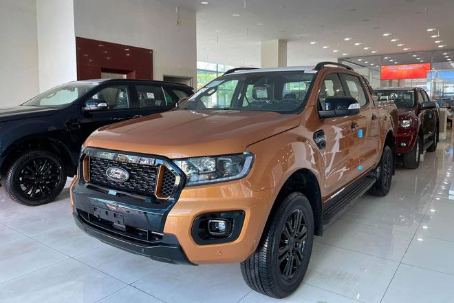Ford Ranger lắp ráp tại Việt Nam có ít nhất 5 phiên bản