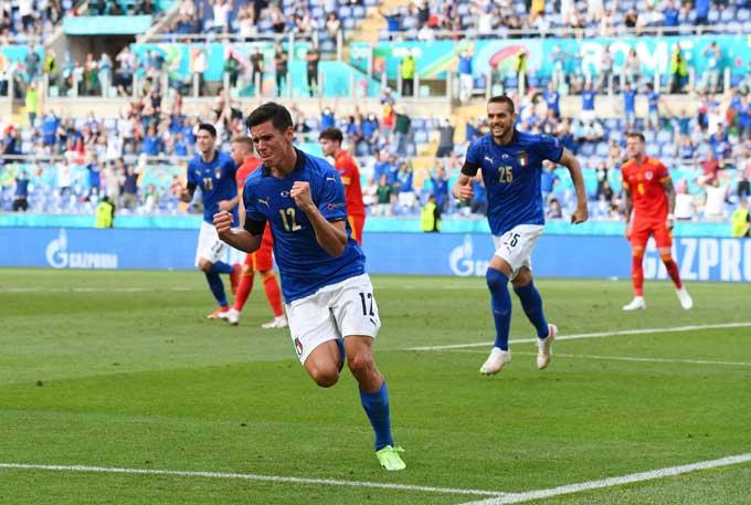 Thắng nhẹ nhàng, Italia dắt tay xứ Wales vào vòng 1/8 EURO 2020