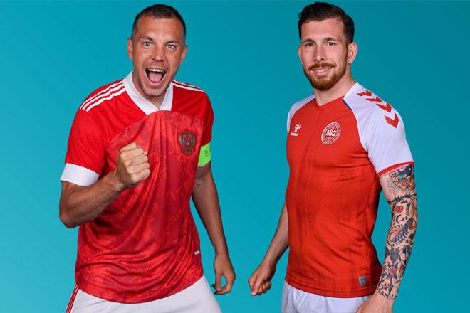 Lịch phát sóng EURO 2020 đêm 21/6, rạng sáng 22/6: Nga chạm trán Đan Mạch