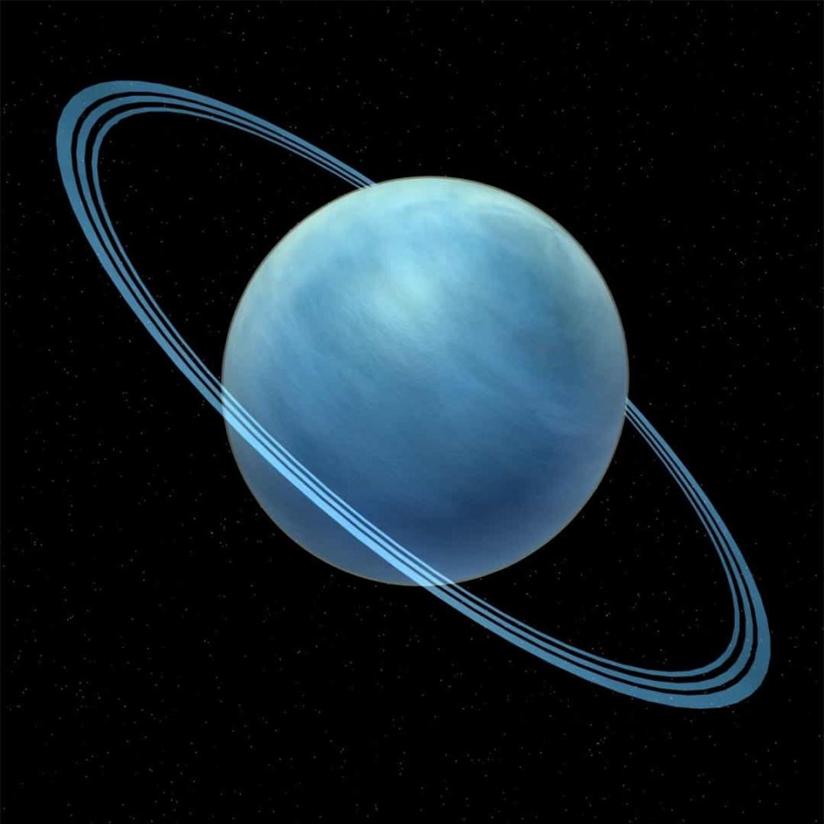 Không chỉ sao Thổ, sao Thiên Vương cũng có những vành đai quanh nó nhưng chúng ta không thể nhìn thấy bởi chúng ở quá xa.
