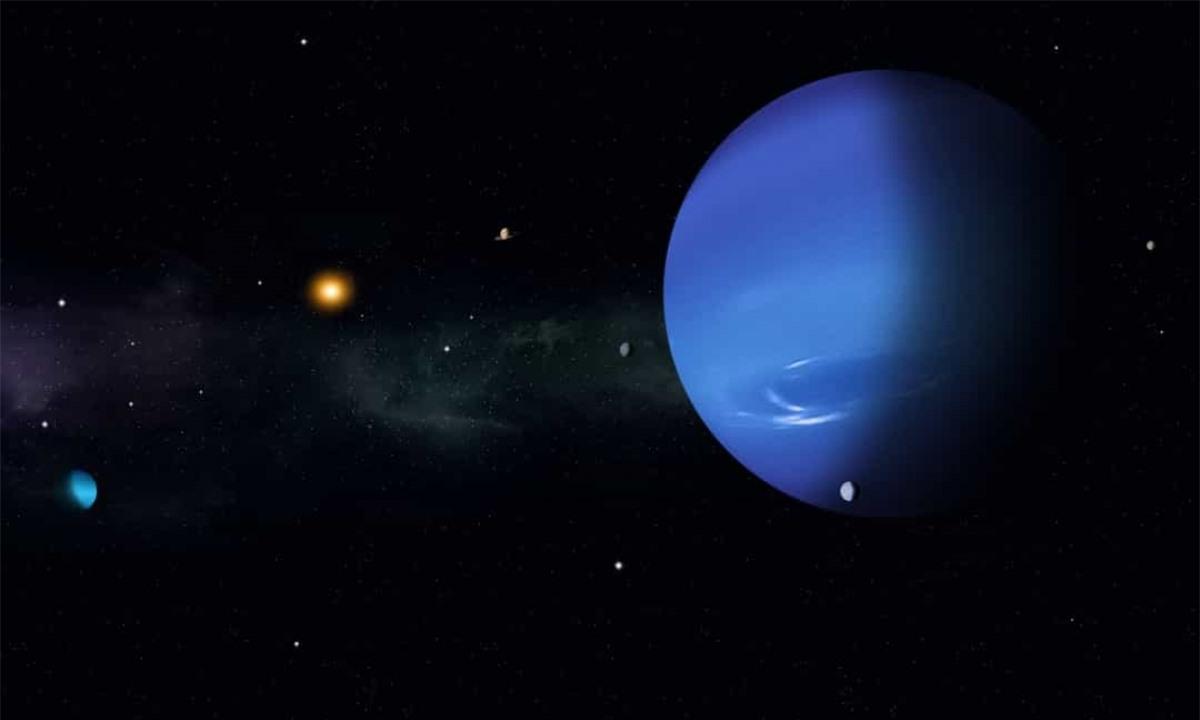 Một nửa hành tinh này được Mặt Trời chiếu sáng suốt 42 năm trong khi nửa kia hoàn toàn chìm trong bóng tối.