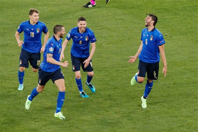 Italia là ứng viên vô địch có màn trình diễn ấn tượng nhất tới lúc này