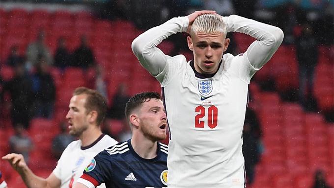 ĐT Anh cho thấy nhiều vấn đề sau 2 trận ở vòng bảng