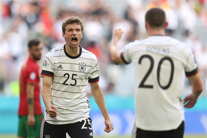 Đức có chiến thắng ấn tượng trước Bồ Đào Nha để lấy lại hy vọng vượt qua bảng tử thần