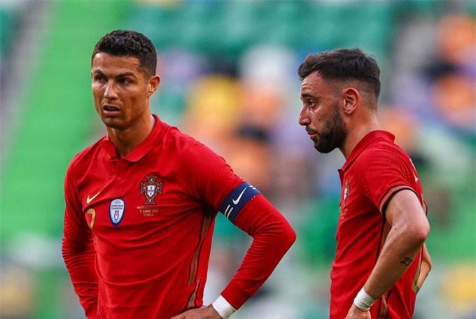 Ronaldo và Bruno có nguy cơ bị loại ngay từ vòng bảng