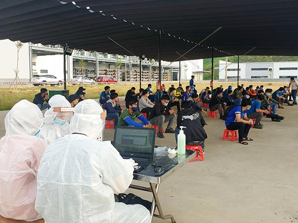 Đà Nẵng: Có công nhân dương tính, đóng cửa một phân xưởng Nhà máy linh kiện hàng không vũ trụ UACV (Mỹ)