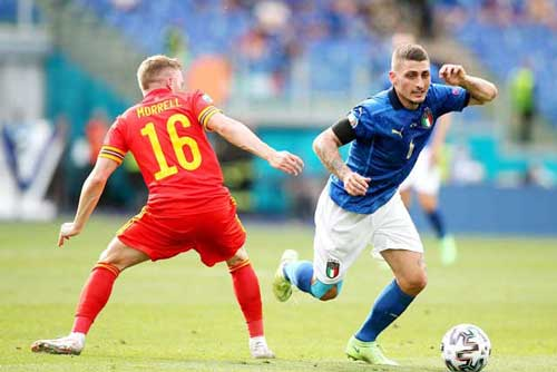 'Cỗ máy' Italia không thể thiếu Verratti