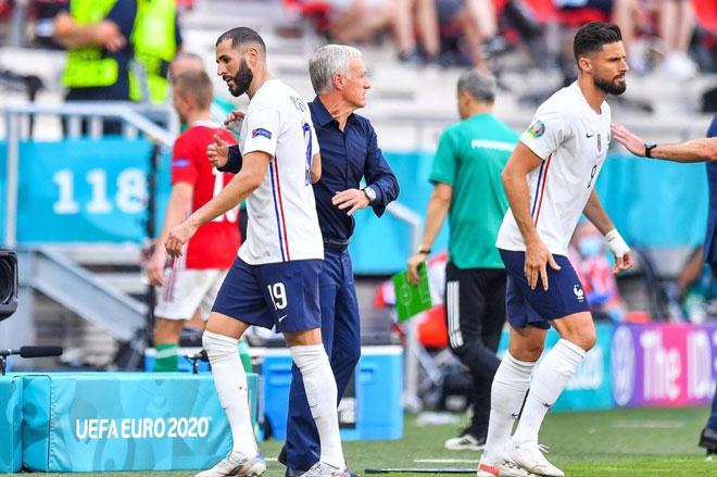 Benzema hay Giroud xứng đáng được đá chính tại EURO 2020?