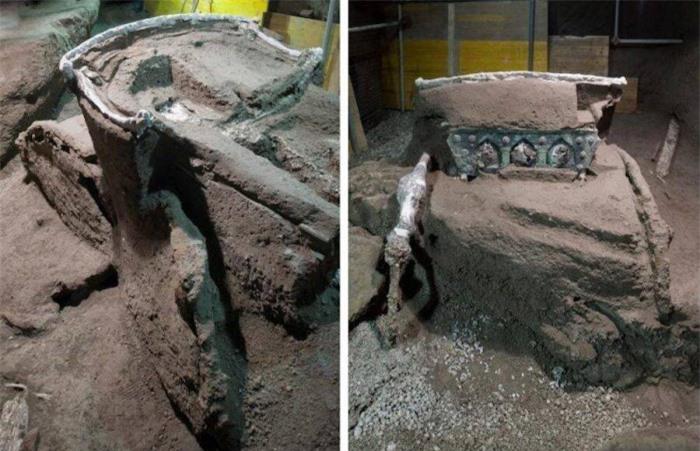 Phát hiện cỗ xe nghi lễ 2.000 năm tuổi tuyệt đẹp trong biệt thự 4