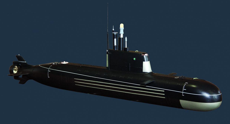 Cục Kỹ thuật Hàng hải Malakhite đã thiết kế tàu ngầm hạt nhân nhỏ đa năng Gorgona