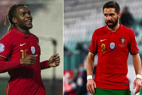 Đội hình dự kiến Bồ Đào Nha vs Pháp: Sanches và Moutinho hỗ trợ Ronaldo?