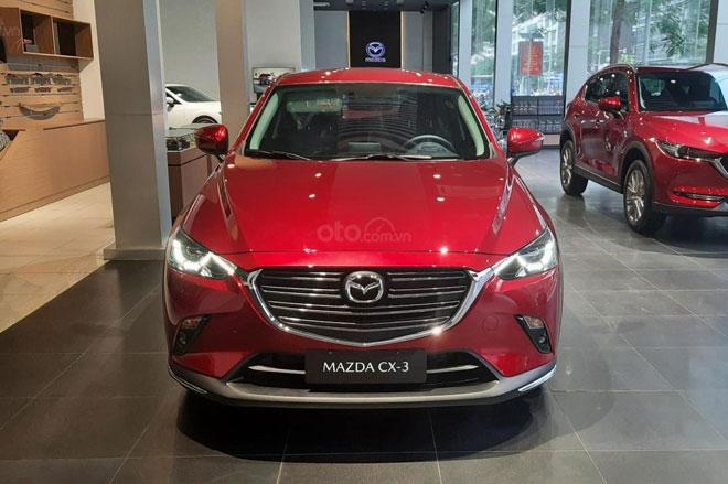 Mazda CX-3 vượt Hyundai Kona về doanh số trong tháng 5/2021