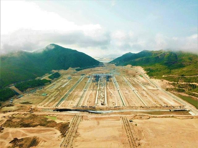 Hình ảnh thực tế tại dự án Hải Giang Merry Land. (Ảnh: HT)