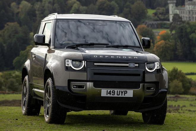 6. Land Rover.