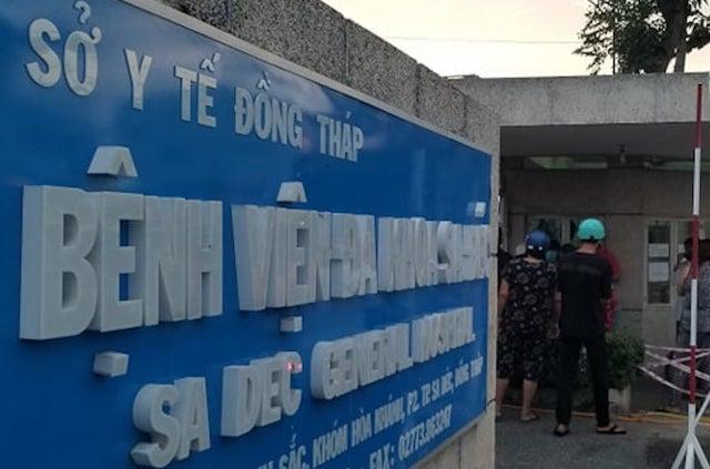 Đồng Tháp phong tỏa Bệnh viện Sa Đéc vì có ca nghi nhiễm Covid-19