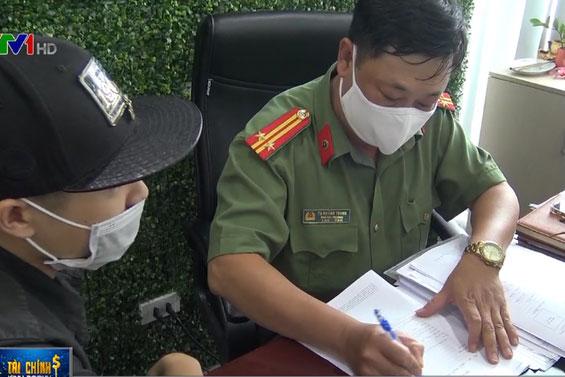 Phòng An ninh kinh tế làm việc tại Văn phòng Công ty TNHH MTV ANT Group (Cầu Giấy, Hà Nội).