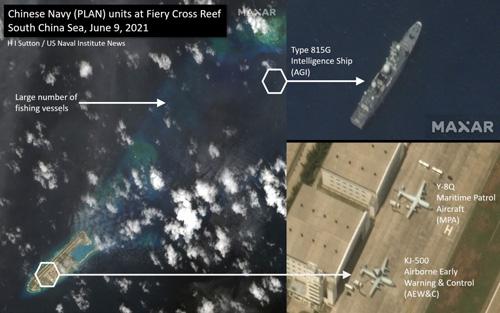 Việt Nam lên tiếng việc Trung Quốc đưa trái phép tàu, máy bay trinh sát tới Trường Sa