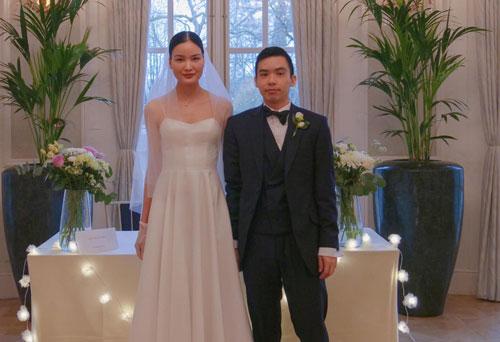 Á quân Vietnam's Next Top Model Chà Mi bất ngờ chia sẻ toàn bộ ảnh đám cưới đơn giản bên ông xã gốc Hoa