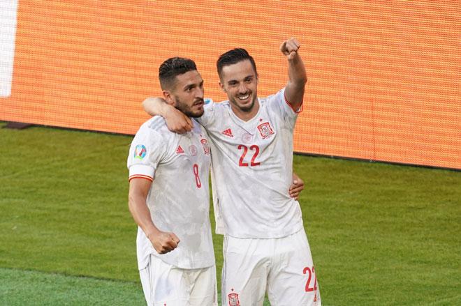 Vùi dập Slovakia, Tây Ban Nha gặp Croatia ở vòng 1/8 EURO 2020