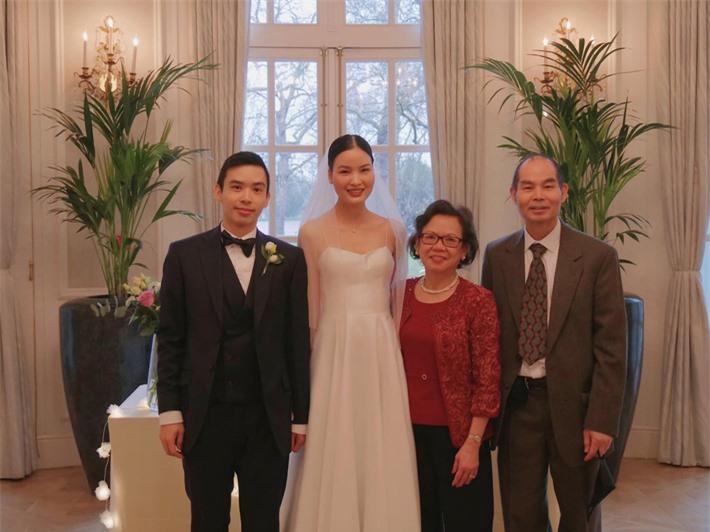 Á quân Vietnam's Next Top Model Chà Mi tung toàn bộ ảnh trong đám cưới đơn giản bên ông xã gốc Hoa - Ảnh 3.