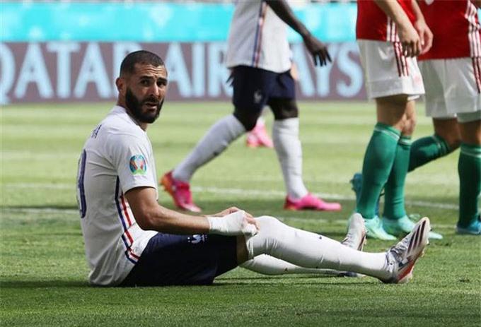 Benzema gây thất vọng trong 2 trận đầu tiên tại EURO 2020