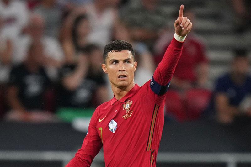 Ronaldo đã có 5 bàn tại EURO 2020.