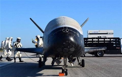 Nga lay duoc bi mat may bay vu tru X-37B cua My?