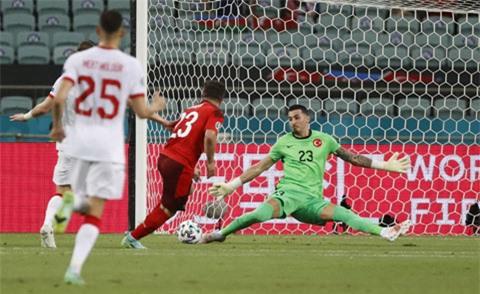 Cakir (Thổ Nhĩ Kỳ) là thủ môn có nhiều pha cứu thua nhất