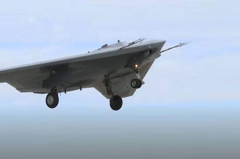 UAV tấn công Okhotnik của Nga có thể được đưa đi thử nghiệm ở Syria vào cuối năm nay