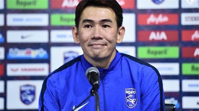 Ông Anurak Srikerd sẽ làm HLV tạm quyền của đội tuyển Thái Lan