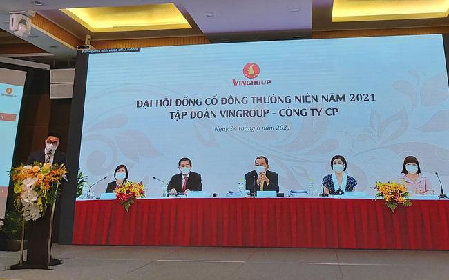 Đại hội đồng cổ đông thường niên năm 2021 của tập đoàn Vingroup