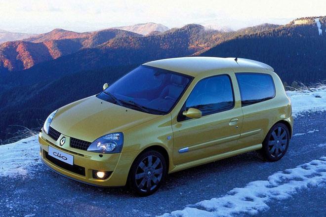 1. Renault Clio RS 182.