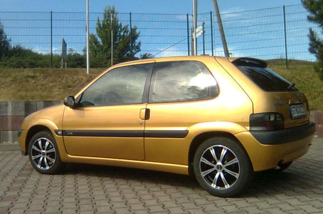 3. Citroen Saxo VTS.