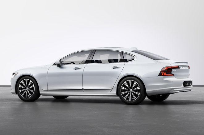 4. Volvo S90 2021 (giá khởi điểm: 55.695 USD).