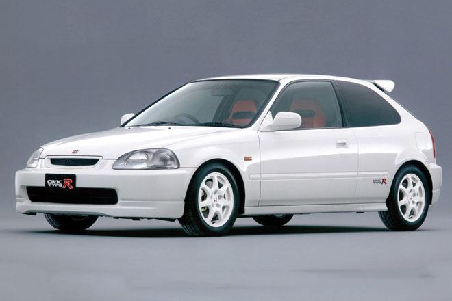 7. Honda Civic Type R (EK9).