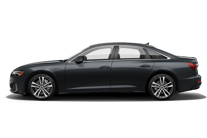 9. Audi A6 2021 (giá khởi điểm: 60.845 USD).