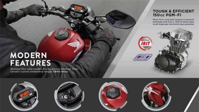 Honda CB150 Verza 2021 ra mắt, giá chỉ từ 32 triệu đồng 5