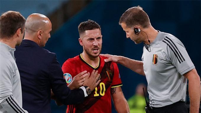 Nhưng chấn thương vào cuối trận khiến anh có nguy cơ không thể duy trì phong độ tại EURO 2020