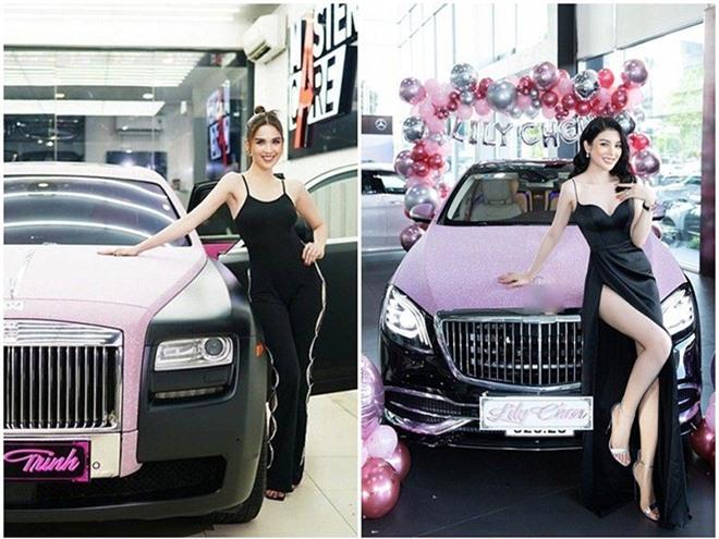 Nhan sắc thời thi hoa hậu của Lily Chen - mỹ nhân bị đồn là tình địch của Ngọc Trinh - Ảnh 1.