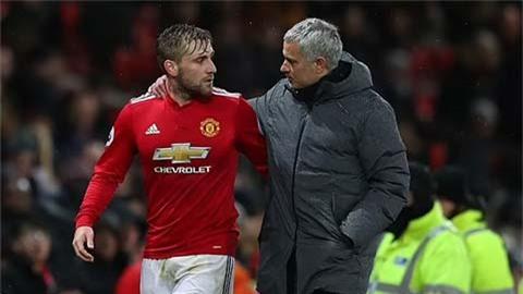 Mourinho chưa bao giờ thôi chú ý vào Shaw