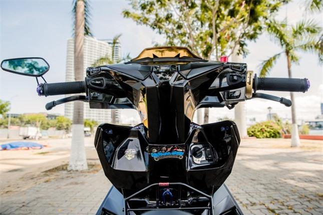 Xe tay ga Airblade 2020 độ với ống xả khủng ảnh 9