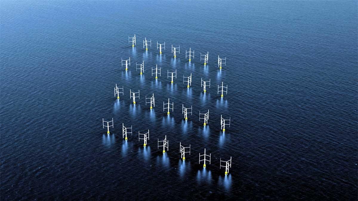 Công nghệ tuabin gió nổi ngoài khơi.