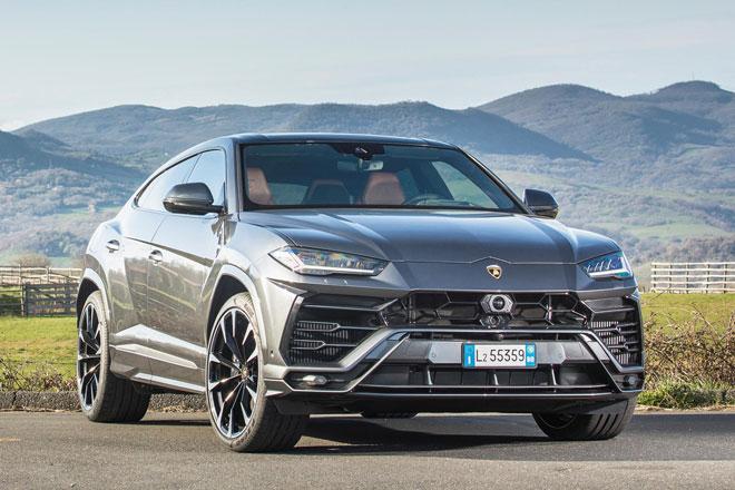 1. Lamborghini Urus.
