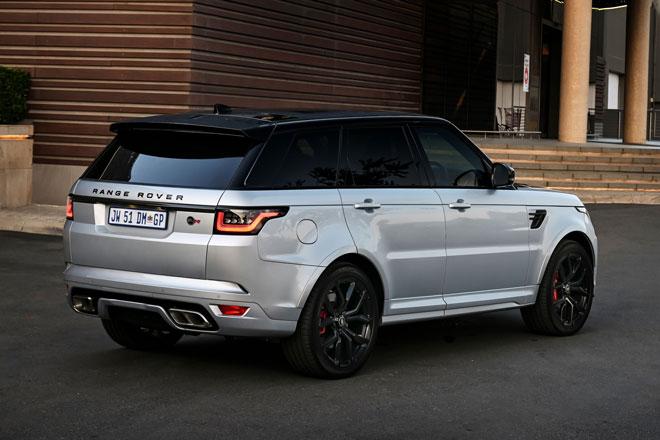 5. Range Rover Sport SVR.